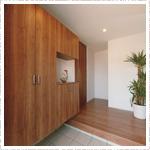 鹿児島新築注文住宅マイホーム玄関収納