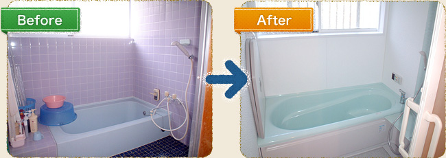 浴室リフォーム施工例 鹿児島県日置市伊集院町 M様邸